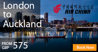 Cheap Flights to Auckland from London United Kingdom
