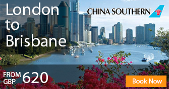 Cheap Flights to Brisbane from London United Kingdom